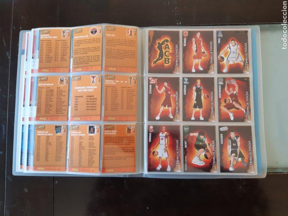 Coleccionismo deportivo: ALBUM ARCHIVADOR TRADING CARDS BALONCESTO BASKET ACB 2008 2009 08 09 COMPLETA EXCELENTE ESTADO - Foto 38 - 222623271