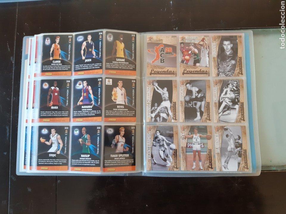 Coleccionismo deportivo: ALBUM ARCHIVADOR TRADING CARDS BALONCESTO BASKET ACB 2008 2009 08 09 COMPLETA EXCELENTE ESTADO - Foto 40 - 222623271