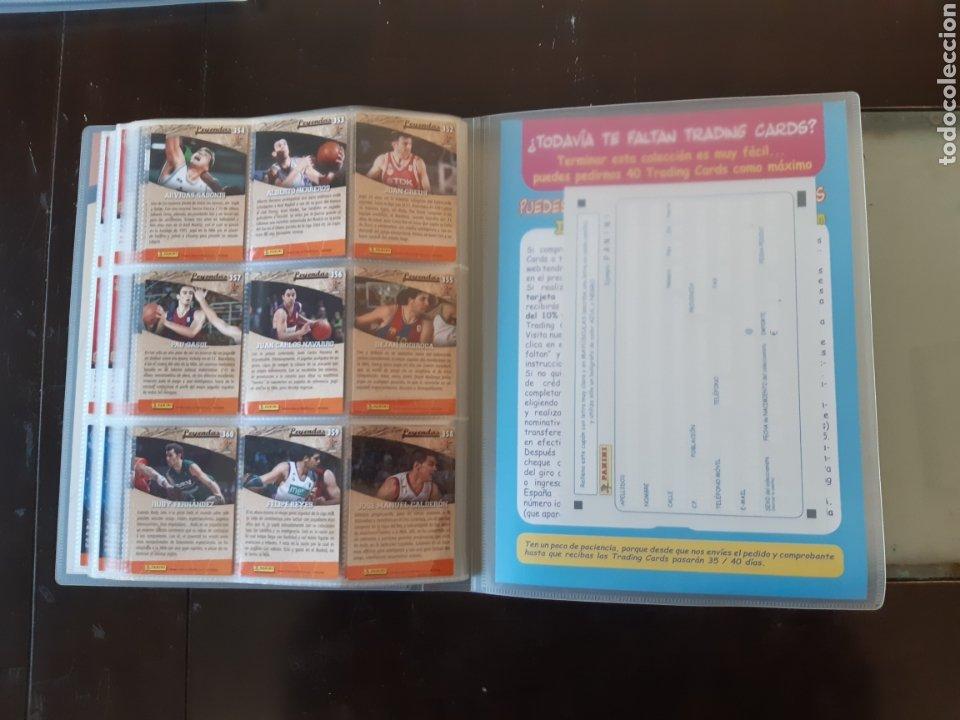 Coleccionismo deportivo: ALBUM ARCHIVADOR TRADING CARDS BALONCESTO BASKET ACB 2008 2009 08 09 COMPLETA EXCELENTE ESTADO - Foto 43 - 222623271
