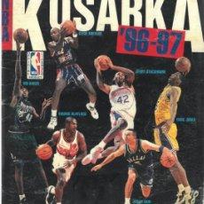 Coleccionismo deportivo: ÁLBUM CROMOS FACSIMIL STICKER ALBUM BASKETBALL BALONCESTO KOSARKA NBA 1996 1997 COMPLETO Y NUEVO. Lote 222685370