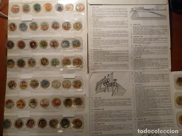 Coleccionismo deportivo: montreal 1976 album de cromos completo muy buen estado coca cola juegos olimpicos - Foto 2 - 224934677