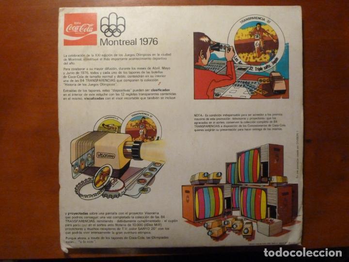 Coleccionismo deportivo: montreal 1976 album de cromos completo muy buen estado coca cola juegos olimpicos - Foto 6 - 224934677