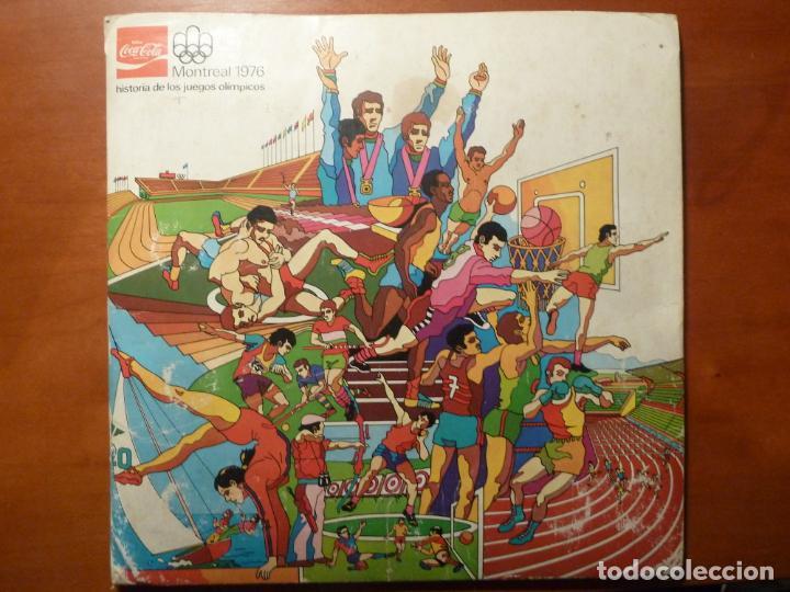 MONTREAL 1976 ALBUM DE CROMOS COMPLETO MUY BUEN ESTADO COCA COLA JUEGOS OLIMPICOS (Coleccionismo Deportivo - Álbumes otros Deportes)