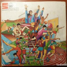 Coleccionismo deportivo: MONTREAL 1976 ALBUM DE CROMOS COMPLETO MUY BUEN ESTADO COCA COLA JUEGOS OLIMPICOS. Lote 224934677