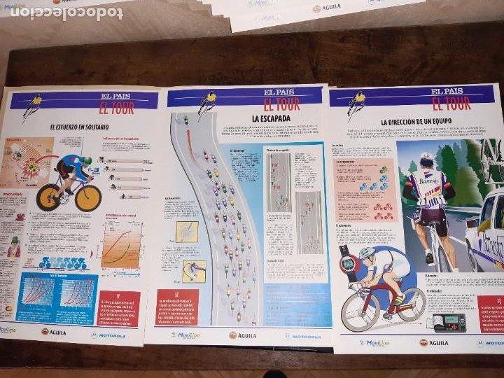 Coleccionismo deportivo: Fichas con la historia del Tour de Francia. EL País .1995 - Foto 10 - 225466870