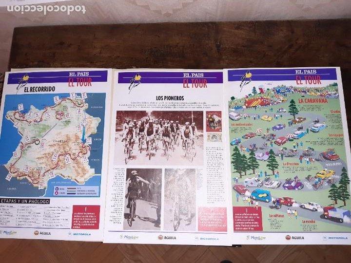 Coleccionismo deportivo: Fichas con la historia del Tour de Francia. EL País .1995 - Foto 4 - 225466870