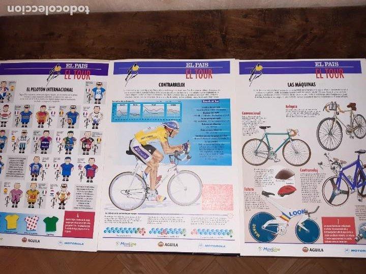 Coleccionismo deportivo: Fichas con la historia del Tour de Francia. EL País .1995 - Foto 6 - 225466870