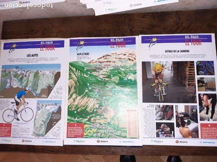 Coleccionismo deportivo: Fichas con la historia del Tour de Francia. EL País .1995 - Foto 8 - 225466870