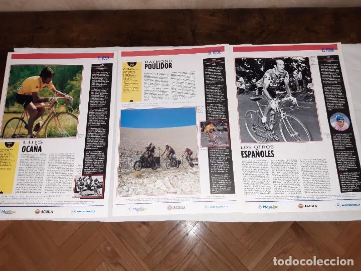 Coleccionismo deportivo: Fichas con la historia del Tour de Francia. EL País .1995 - Foto 13 - 225466870