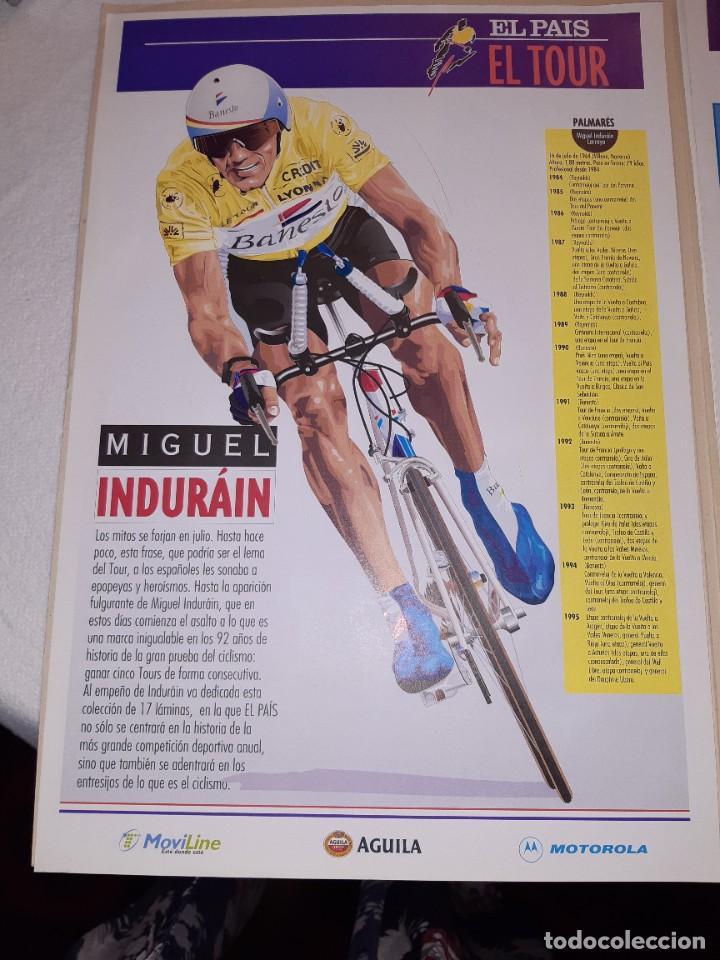 Coleccionismo deportivo: Fichas con la historia del Tour de Francia. EL País .1995 - Foto 2 - 225466870