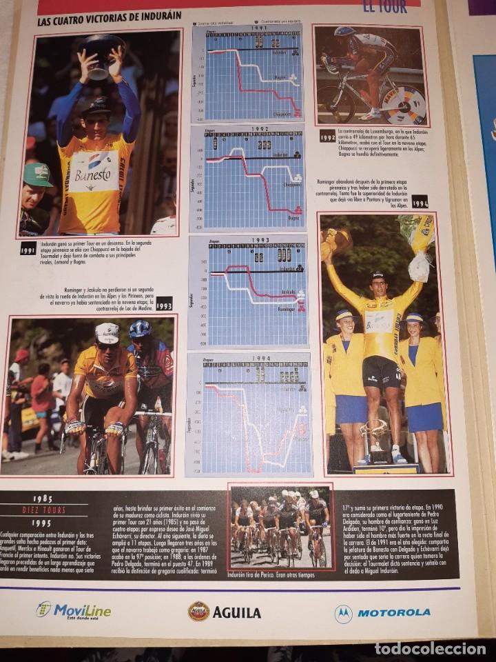 Coleccionismo deportivo: Fichas con la historia del Tour de Francia. EL País .1995 - Foto 3 - 225466870
