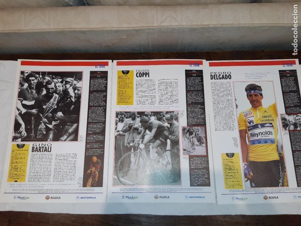 Coleccionismo deportivo: Fichas con la historia del Tour de Francia. EL País .1995 - Foto 7 - 225466870