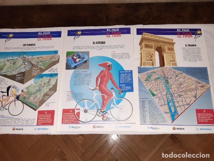 Coleccionismo deportivo: Fichas con la historia del Tour de Francia. EL País .1995 - Foto 12 - 225466870
