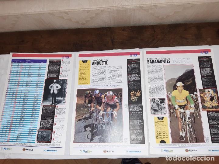 Coleccionismo deportivo: Fichas con la historia del Tour de Francia. EL País .1995 - Foto 5 - 225466870