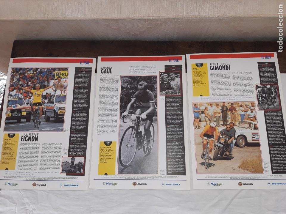 Coleccionismo deportivo: Fichas con la historia del Tour de Francia. EL País .1995 - Foto 9 - 225466870