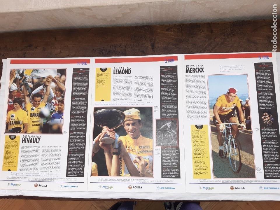 Coleccionismo deportivo: Fichas con la historia del Tour de Francia. EL País .1995 - Foto 11 - 225466870