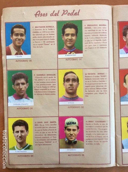 Coleccionismo deportivo: Álbum Ases del Pedal - Album Autógrafo - 1960 - leer descripción. - Foto 3 - 225754495
