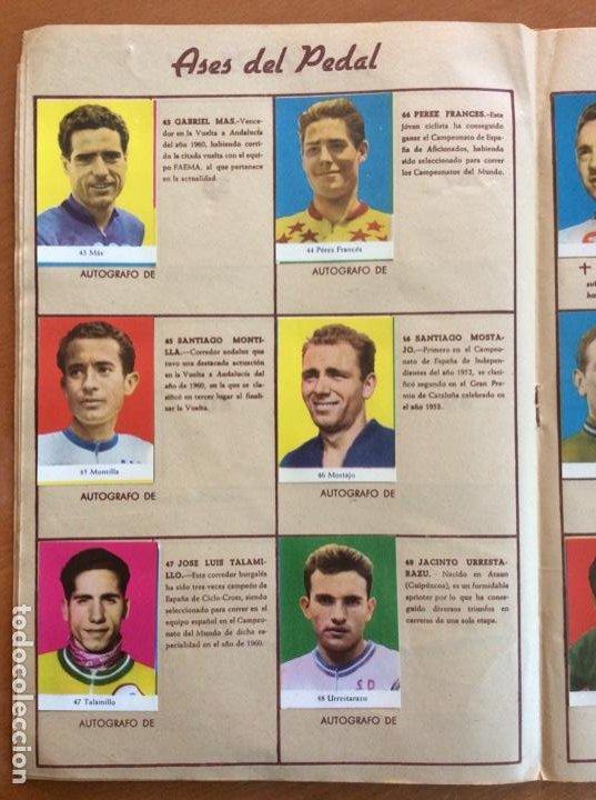 Coleccionismo deportivo: Álbum Ases del Pedal - Album Autógrafo - 1960 - leer descripción. - Foto 9 - 225754495