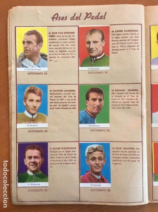 Coleccionismo deportivo: Álbum Ases del Pedal - Album Autógrafo - 1960 - leer descripción. - Foto 13 - 225754495