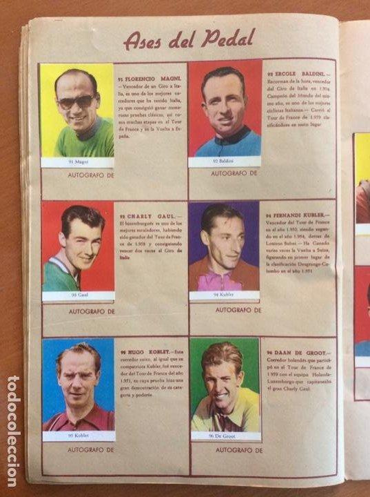 Coleccionismo deportivo: Álbum Ases del Pedal - Album Autógrafo - 1960 - leer descripción. - Foto 17 - 225754495