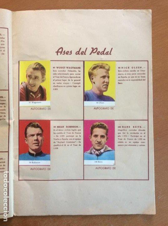 Coleccionismo deportivo: Álbum Ases del Pedal - Album Autógrafo - 1960 - leer descripción. - Foto 18 - 225754495