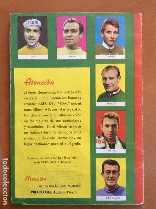 Coleccionismo deportivo: Álbum Ases del Pedal - Album Autógrafo - 1960 - leer descripción. - Foto 19 - 225754495