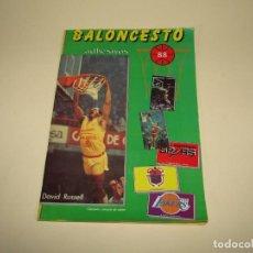 Coleccionismo deportivo: ANTIGUO ÁLBUM BALONCESTO 88 EDITOR J. MERCHANTE DEL AÑO 1987. Lote 227493227