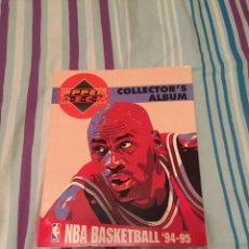 Coleccionismo deportivo: NBA BASKETBALL´94 -95 (COLLECTOR´S ALBUM) DE UPPER DECK. Lote 227968650
