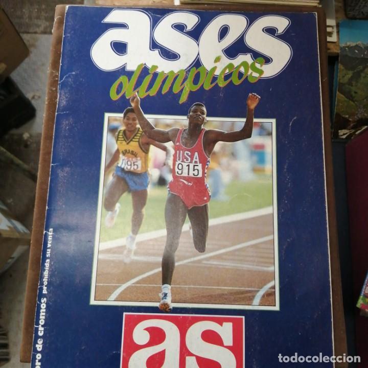 ASES OLÍMPICOS COMPLETO (Coleccionismo Deportivo - Álbumes otros Deportes)
