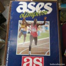 Coleccionismo deportivo: ASES OLÍMPICOS COMPLETO. Lote 228055355