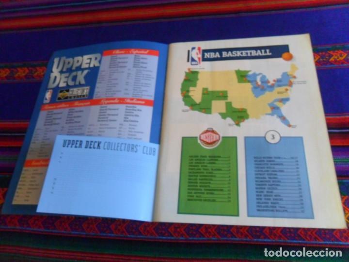 Coleccionismo deportivo: CON CROMO DE MICHAEL JORDAN 1996 1997 NBA BASKETBALL STICKER ALBUM INCOMPLETO. UPPER DECK. BE. RARO. - Foto 3 - 228562430