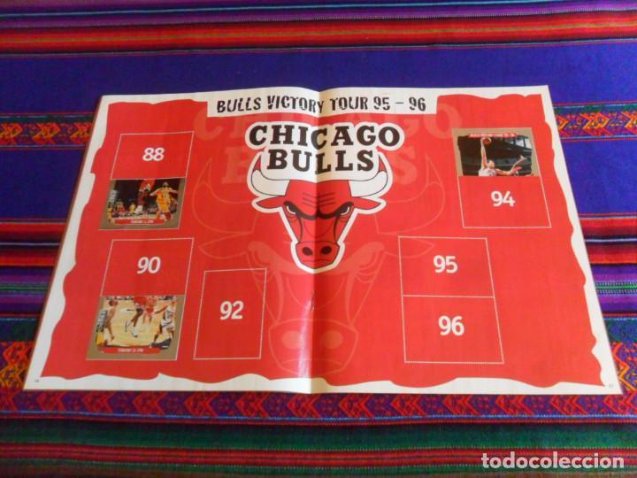 Coleccionismo deportivo: CON CROMO DE MICHAEL JORDAN 1996 1997 NBA BASKETBALL STICKER ALBUM INCOMPLETO. UPPER DECK. BE. RARO. - Foto 6 - 228562430