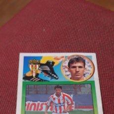 Collectionnisme sportif: MINER FICHAJE 35 SPORTING DE GIJÓN ESTE 93 94 1993 1994 DESPEGADO. Lote 230099640
