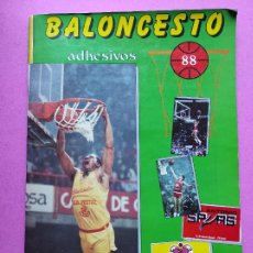 Coleccionismo deportivo: ALBUM COMPLETO BALONCESTO 1988 - LIGA ACB 87/88 NBA JORDAN STICKER BASKET - MARCHANTE. Lote 231483835