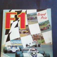 Collectionnisme sportif: ÁLBUM F1 GRAND PRIX. PANINI. 1980. COMPLETO.. Lote 232099115