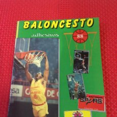 Collectionnisme sportif: BALONCESTO 88 - ALBUM DE CROMOS ADHESIVOS - EDITORIAL J. MERCHANTE - CON 204 CROMOS - FALTAN 10. Lote 233842980