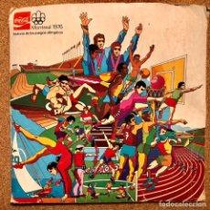 Coleccionismo deportivo: ÁLBUM COCA COLA MONTREAL 1976 OLIMPIADAS. Lote 234553290