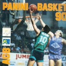 Coleccionismo deportivo: NUMULITE L0612 PANINI BASKET 90 LLIGA ACB COMPLETO MUY BUEN ESTADO EXCEPTO NOMBRE EN BOLÍGRAFO. Lote 234870840