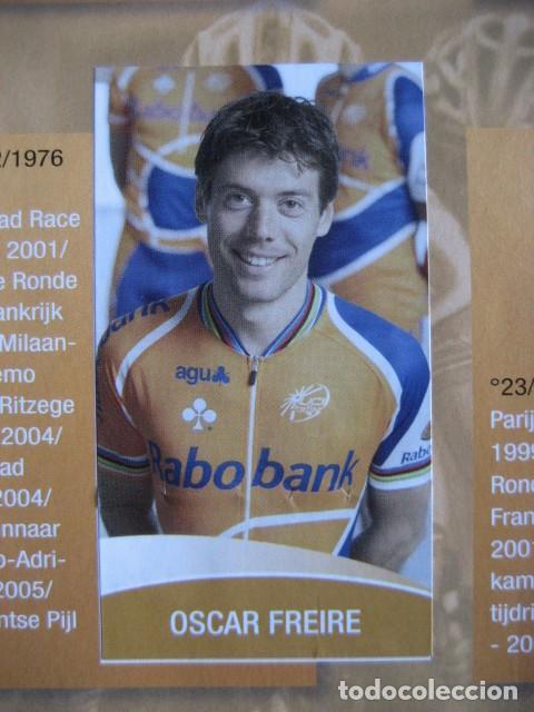Coleccionismo deportivo: CICLISMO: album ciclista 2006 - CICLISTAS: OSCAR FREIRE, JUANMA GARATE, CARLOS SASTRE - Foto 11 - 235879695