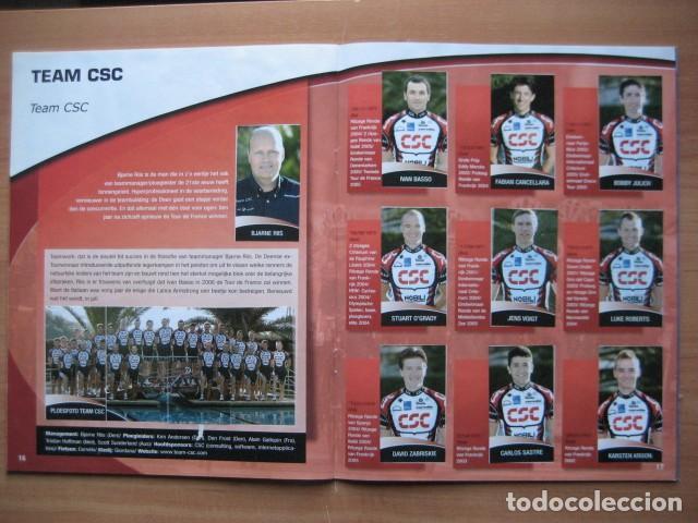 Coleccionismo deportivo: CICLISMO: album ciclista 2006 - CICLISTAS: OSCAR FREIRE, JUANMA GARATE, CARLOS SASTRE - Foto 12 - 235879695