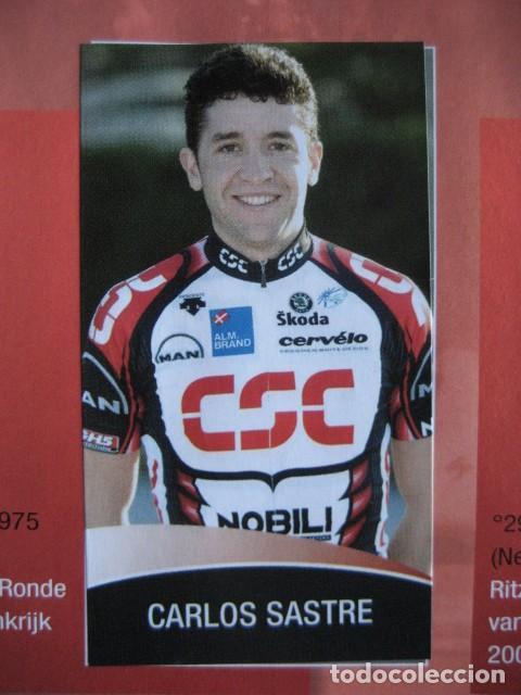 Coleccionismo deportivo: CICLISMO: album ciclista 2006 - CICLISTAS: OSCAR FREIRE, JUANMA GARATE, CARLOS SASTRE - Foto 13 - 235879695