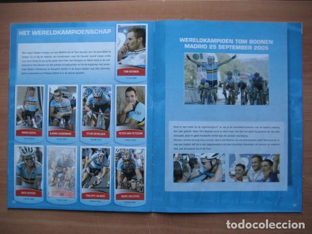 Coleccionismo deportivo: CICLISMO: album ciclista 2006 - CICLISTAS: OSCAR FREIRE, JUANMA GARATE, CARLOS SASTRE - Foto 15 - 235879695