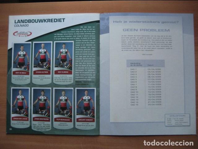Coleccionismo deportivo: CICLISMO: album ciclista 2006 - CICLISTAS: OSCAR FREIRE, JUANMA GARATE, CARLOS SASTRE - Foto 18 - 235879695