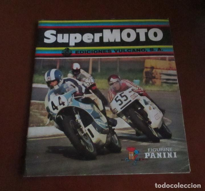 CASI VACIO ALBUM CROMOS SUPER MOTO 1975 VULCANO PANINI SUPERMOTO (Coleccionismo Deportivo - Álbumes otros Deportes)
