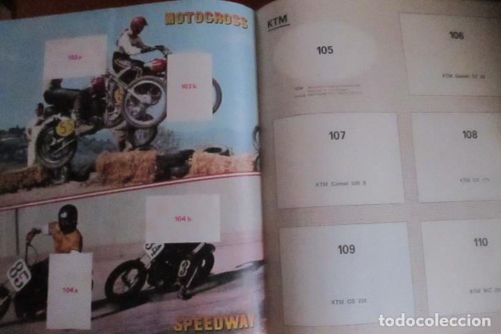 Coleccionismo deportivo: CASI VACIO ALBUM CROMOS SUPER MOTO 1975 VULCANO PANINI SUPERMOTO - Foto 8 - 236085540
