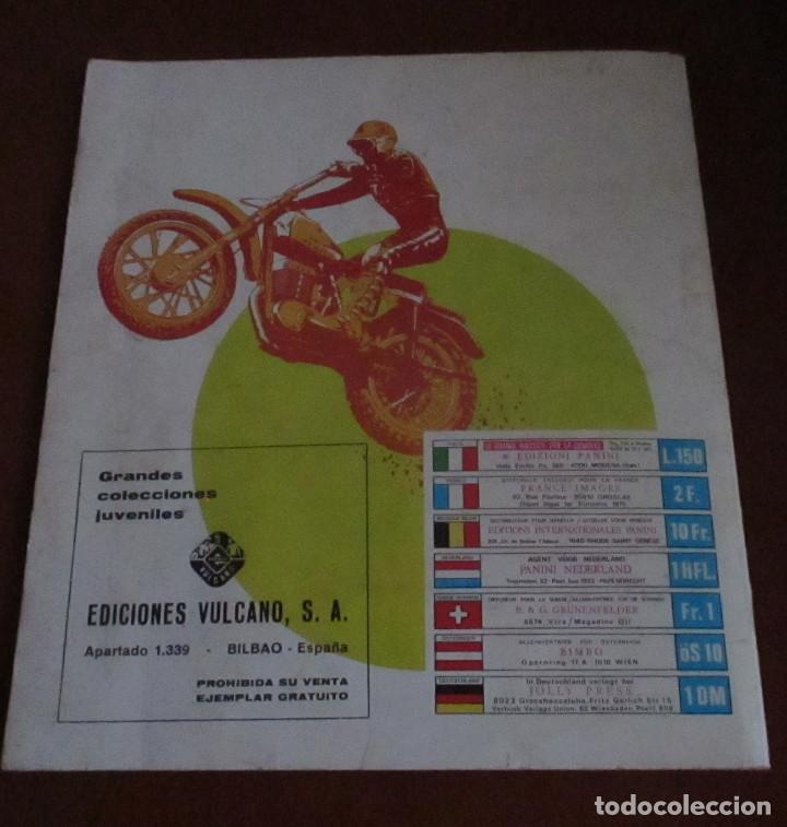 Coleccionismo deportivo: CASI VACIO ALBUM CROMOS SUPER MOTO 1975 VULCANO PANINI SUPERMOTO - Foto 10 - 236085540