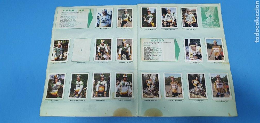 Coleccionismo deportivo: ÁLBUM TRIDEPORTE 84 - CICLISMO / FUTBOL / BALONCESTO - EDICIONES FHER - Foto 3 - 236118800
