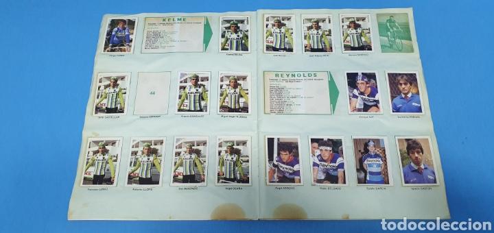 Coleccionismo deportivo: ÁLBUM TRIDEPORTE 84 - CICLISMO / FUTBOL / BALONCESTO - EDICIONES FHER - Foto 5 - 236118800