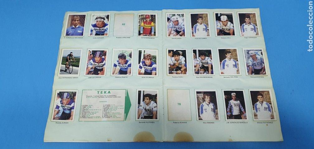 Coleccionismo deportivo: ÁLBUM TRIDEPORTE 84 - CICLISMO / FUTBOL / BALONCESTO - EDICIONES FHER - Foto 6 - 236118800