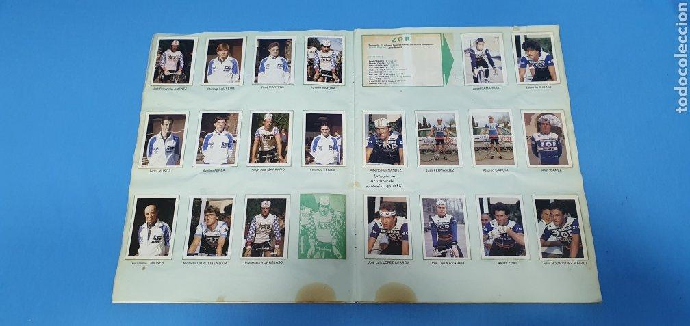 Coleccionismo deportivo: ÁLBUM TRIDEPORTE 84 - CICLISMO / FUTBOL / BALONCESTO - EDICIONES FHER - Foto 7 - 236118800